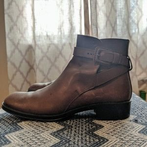Tod's leather boots 39.5